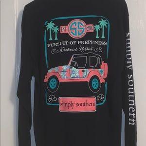 "Long Sleeve ""Simply Southern"" T- Shirt"